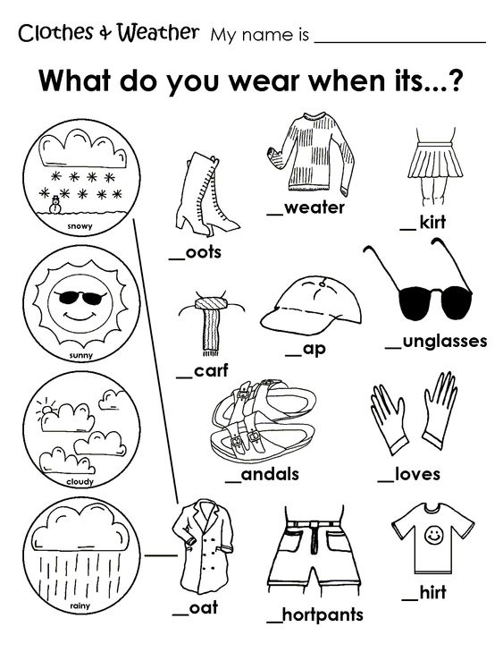 Best Ideas About Esol Weather Worksheet Weather And