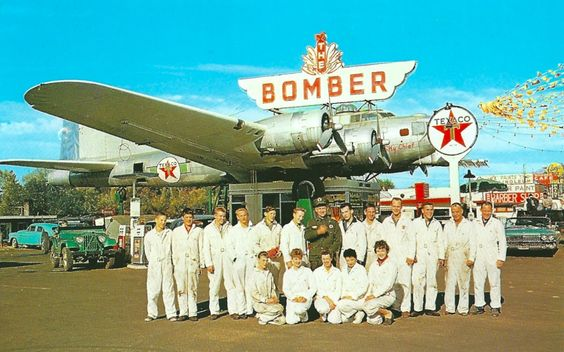 The Bomber (Texaco) Gas Station / Restaurant: