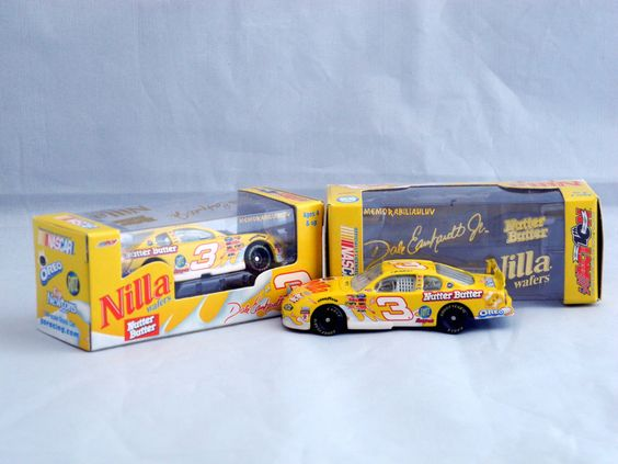 men and their toys! Dale Earnhardt Jr # 3 Nilla Nutter Butter Car $10.99