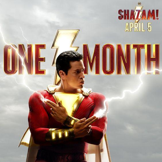 Shazam New Promo Poster