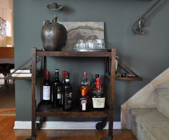 Real Life Style at Home: Adding a Bar Cart
