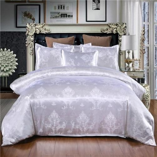 Jacquard Duvet Cover Set 8 Colors 9 Sizes Kwikibuy Amazon Global Duvet Cover Sets King Size Bedding Sets Jacquard Bedding
