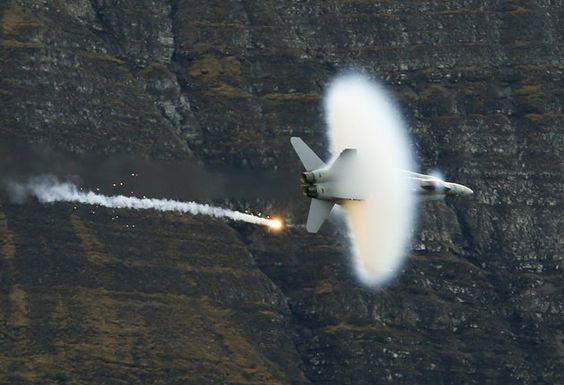 Swiss showcase supersonic jets