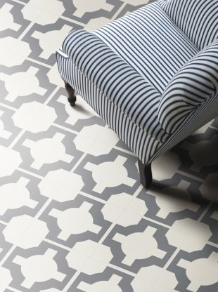 This fun vinyl floor pattern is extremely versatile and for Patterned vinyl flooring