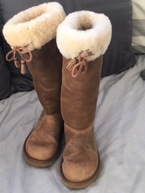 Authentic tall UGG Australia boots with