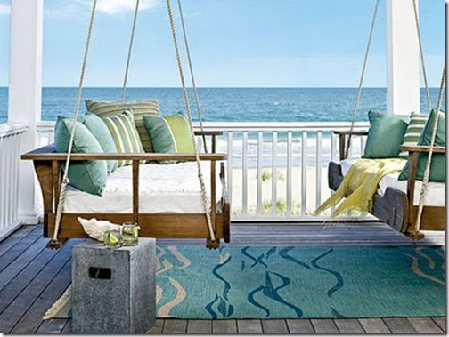 coastal living double porch swing - want it badly!!!!!!!