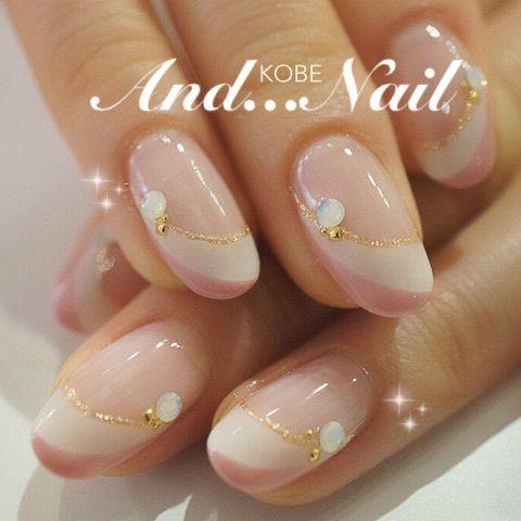 pastel nail: