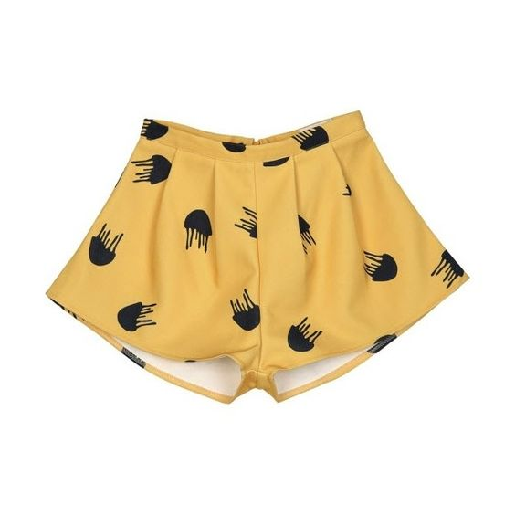 Manet Shorts (13.085 HUF) ❤ liked on Polyvore featuring shorts, yellow and yellow shorts