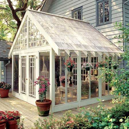 Glass room greenhouse idea indoor garden structure ideas for Glass rooms conservatories