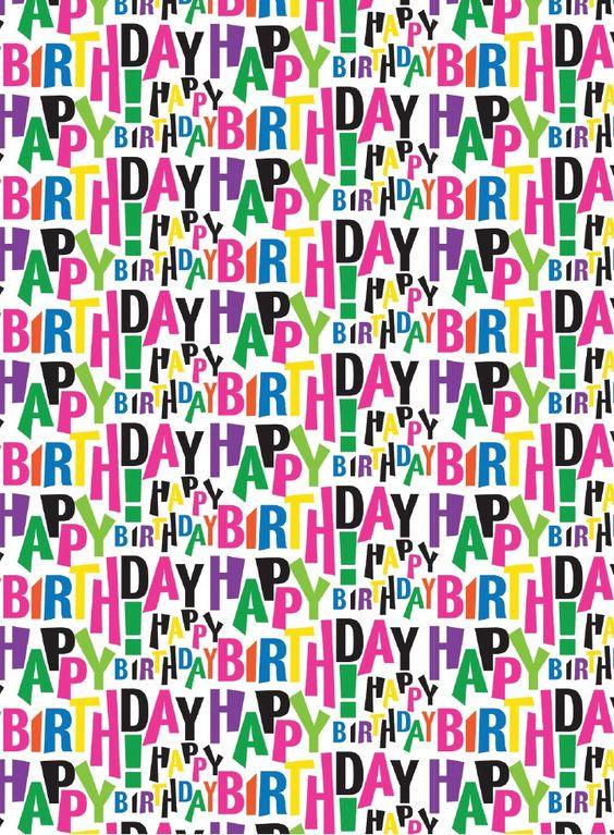 French Bull Birthday Block Gift Wrap --- http://tipsalud.com ----- #compartirvideos.es #happy-birthday