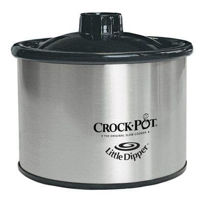 Crock-pot 0.5-Quart Stainless Steel Little Dipper