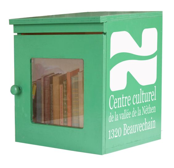 Boîtes à livres Beauvechain blanco