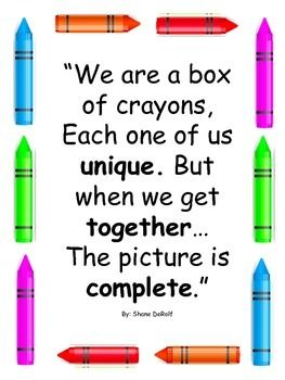 Back To School Activities For The Crayon Box That Talked | School  activities, Kids poems, Poems about school