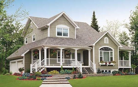 Pinterest the world s catalog of ideas for Rustic house plans with porches