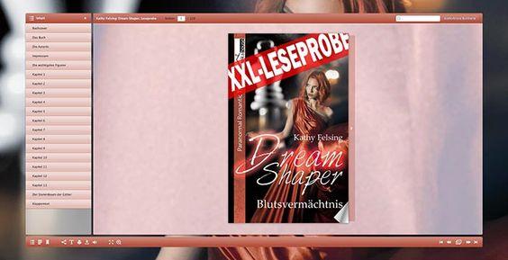 """""""Dream Shaper - Blutsvermächtnis"""" von Kathy Felsing ab Januar 2016 im bookshouse Verlag. www.bookshouse.de/leseproben/369/"""