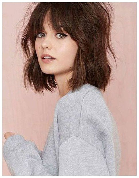 15 Best Hairstyles For Big Face Shapes Easyhairstylesforwavyhair Click The Image Now For More Info Short Hair Styles Hair Styles Messy Hairstyles