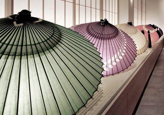 Paper Umbrellas by Tsujikura.