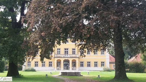 Salzburg, das Schloss Frohnburg an der Hellbrunner Allee Diente - herrenhaus 12 jahrhundert modernen hotel