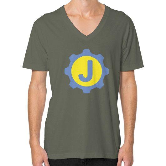 Vault Door Sub Badge V-Neck (on man) Shirt