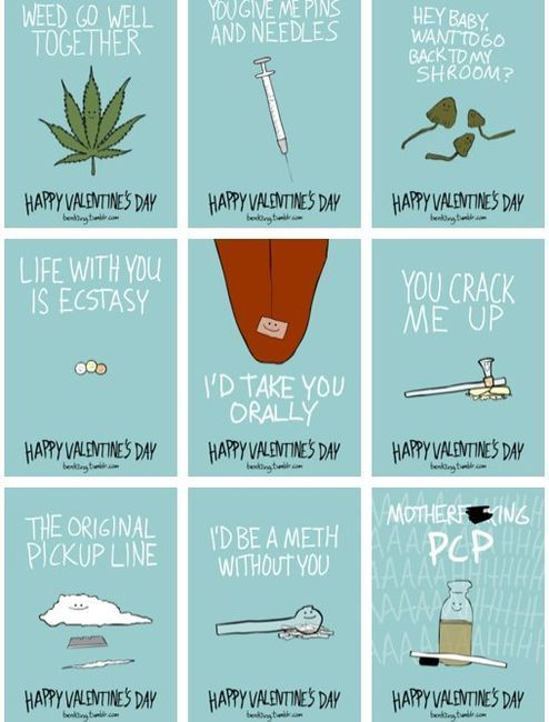 valentine's day weed puns