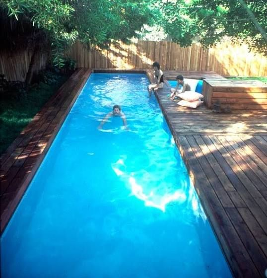 Lap Pool And Spa Plans By Stevenson Diy In Ground Pool Build Your Own Lap Swimming Pool And Spa Google S In 2020 Diy In Ground Pool Building A Pool Backyard Pool