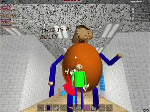 Baldi Bully Roblox Roblox Baldi S Basics Morph Rp The Principal As A Substitute Teacher