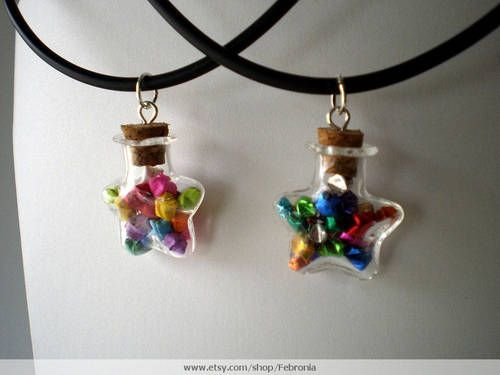 origami star necklace