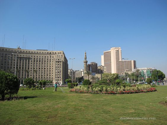 Plaza de la Liberación, Cairo, Egipto