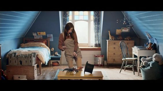 A new commercial for O2 featuring the combining live action, CG and stop frame…