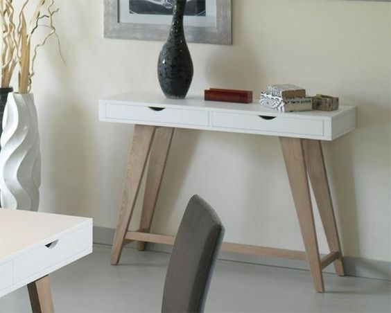 Console tables consoles and drawers on pinterest - Contemporary console tables with drawers ...