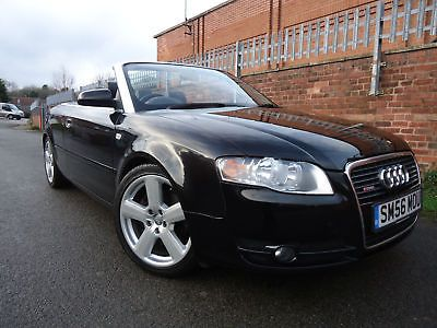 2006 56 Audi A4 Cabriolet 3 2 Quattro S Line Black Convertible Petrol Manual 4 995 00 End Date Wednesday Feb 28 2018 15 43 40 Audi Convertible Audi Audi A4