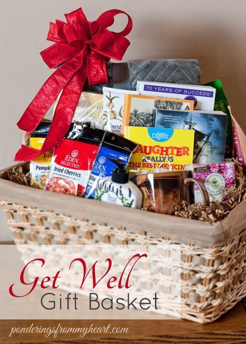 Get Well Gift Basket Get Well Gift Baskets Get Well Baskets Wellness Gifts