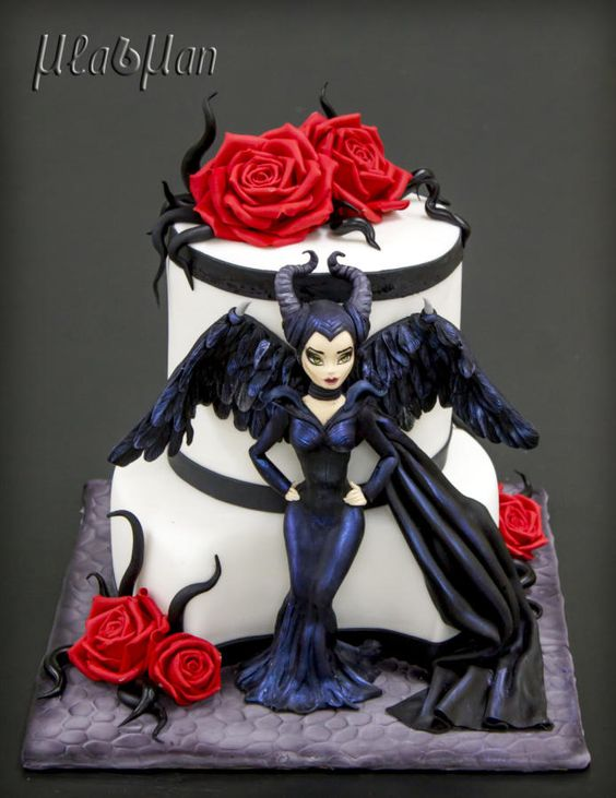 Maleficent Cake by MLADMAN - For all your cake decorating supplies, please visit craftcompany.co.uk