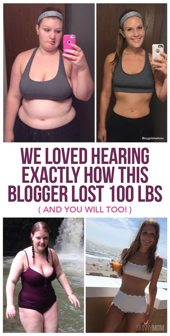 We Loved Hearing Exactly How How This Blogger Lost 100 Pounds