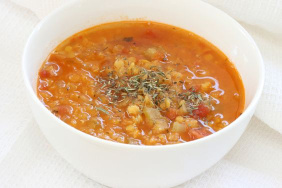 Low-Glycemic Lentil Soup 1 cup lentils 3 cups chicken broth 1/2 onion ...