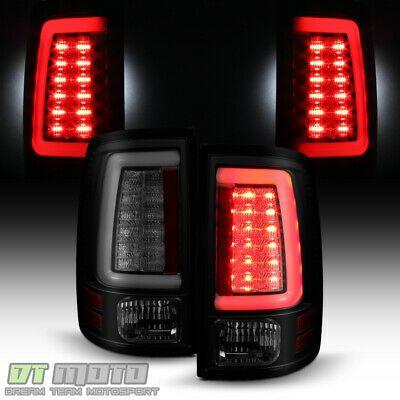 Details About Black Smoke 2009 2018 Dodge Ram 1500 2500 3500 Led Tube Tail Lights Brake Lamps In 2020 Dodge Ram 1500 Dodge Ram Ram 1500
