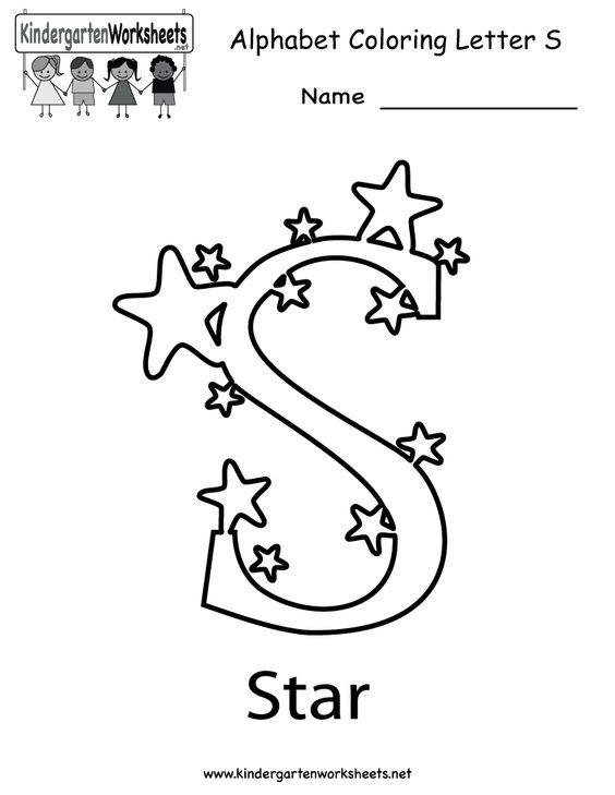 Number Names Worksheets letter s worksheets for kindergarten : Pinterest • The world's catalog of ideas