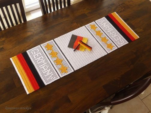 Hakelanleitung Tischlaufer Germany Myboshi Net Hakeln Anleitung