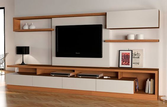 Designing a tv unit bangalore for Muebles bibliotecas para living