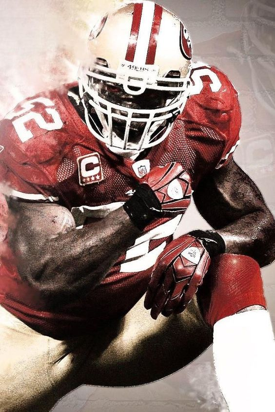 Patrick Willis Patrick O Brian And San Francisco 49ers On