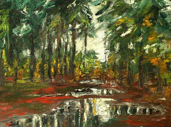 "Volker Scharnefsky ""Nach dem Regen"" Galerie Weise"