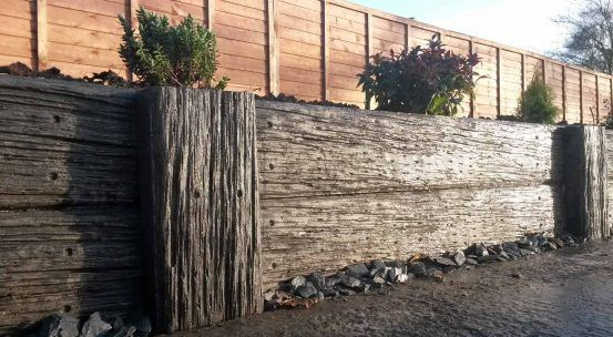Why Concrete Sleepers Team Elite Concrete Sleeper Retaining Walls Concrete Sleepers Sleeper Retaining Wall