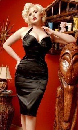 Black Satin Wiggle Dress  On-stage attire  Pinterest  Formal ...