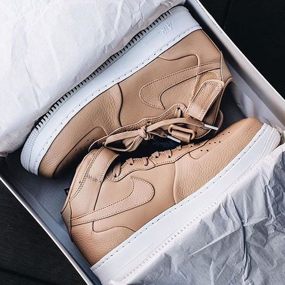 best loved 09444 45ff9 Nike Lab Air Force 1 Mid Vachetta Tan