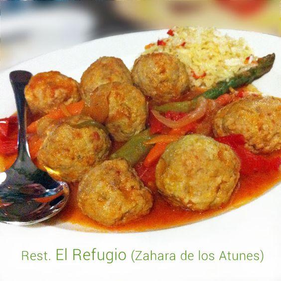 Esta receta de albóndigas de atún es del restaurante El Refugio, en Zahara de los Atunes, con el atún rojo del Estrecho y las especias del otro lado del mar