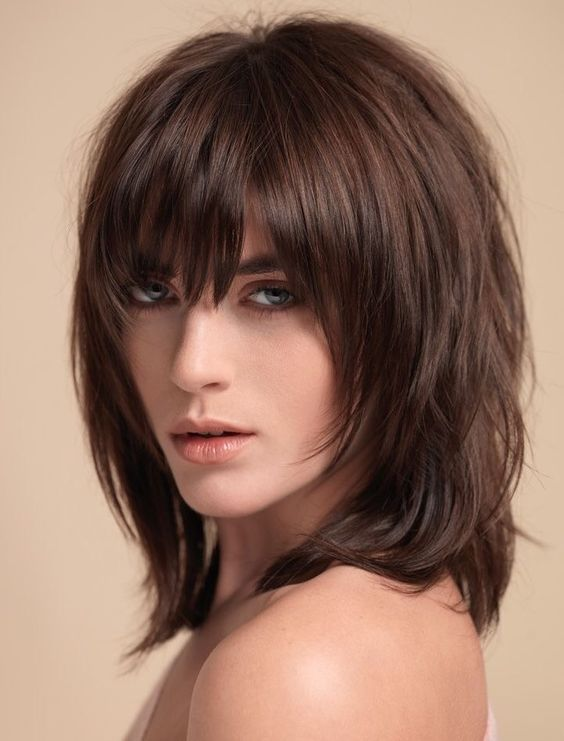 Corte de pelo carre en capas