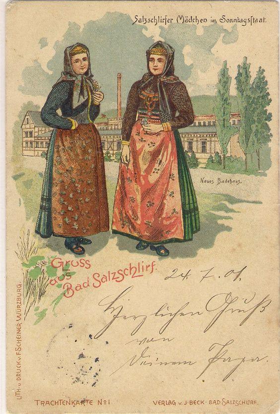 Salzschlirfer Tracht 1902