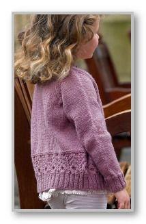 Вязание кофты детям на пуговицах 22