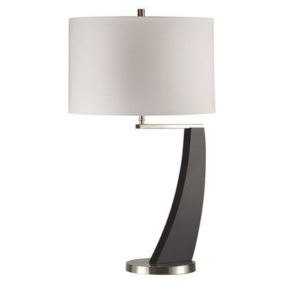 "Nova Wella 28"" H Table Lamp with Drum Shade"