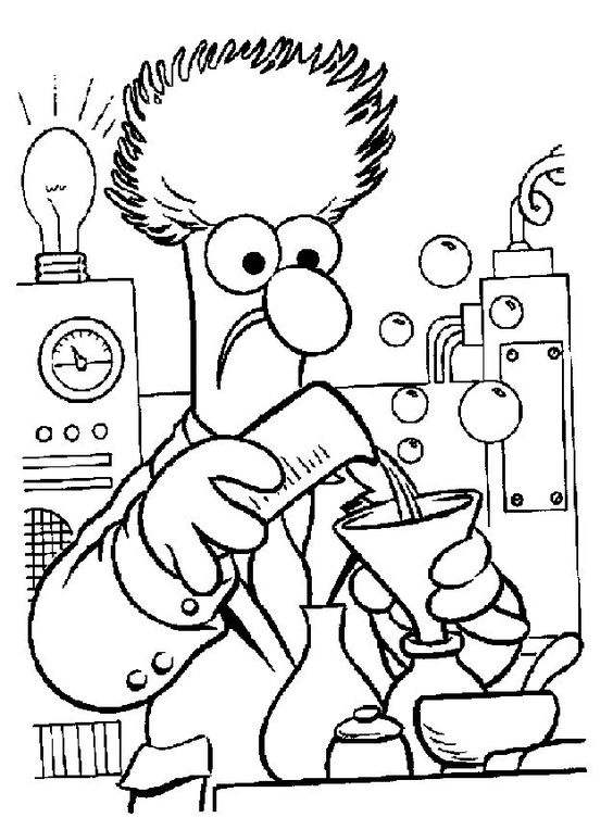 muppet swedish chef coloring pages - photo#22